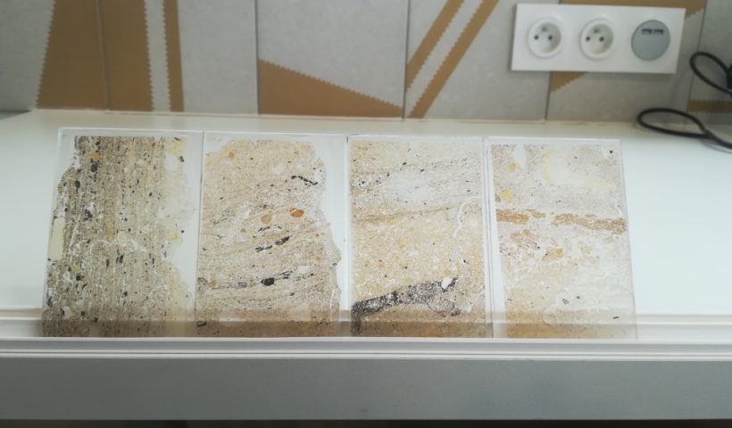 Thin sections from PPNA site in Jordan