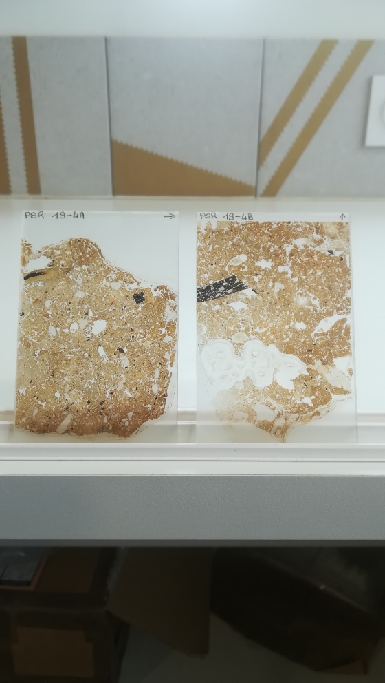 Micromorphology thin section from the Palaeo Silk Road
