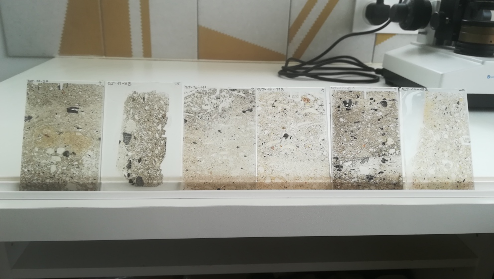 Thin sections from Peru